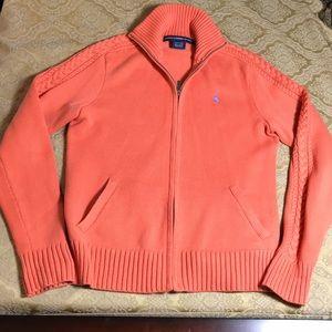 SALE🌺 Ralph Lauren Sport zip sweater M